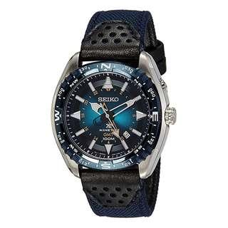 精工 SEIKO PROSPEX KINETIC GMT DIVER'S WATCH 潛水 SUN059P1 200M 防水 SUN059-P1