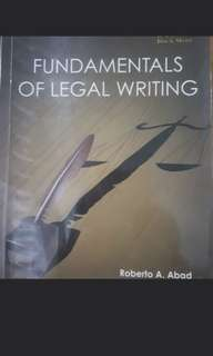 Legal writing abad
