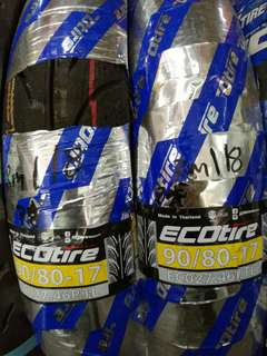 ECO TIRE TUBELESS 90/80/17