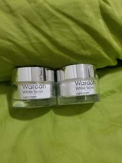 "Wardah Night Cream ""White Secret"""