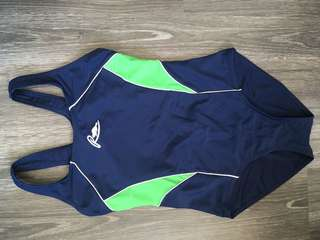 Roots Navy Blue Onepiece Swimsuit