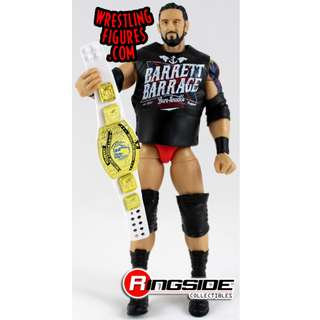 WWE Mattel Elite Series 24 Wade Barrett Bad News White Intercontinental Belt New
