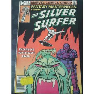 Fantasy Masterpieces #6 (Featuring The Silver Surfer)