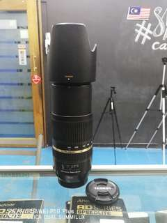 (USED) TAMRON SP 70-300MM F/4-5.6 DI VC USD LENS FOR CANON