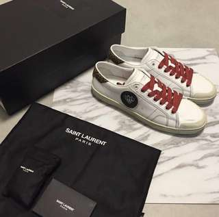 Saint Laurent Pairs White sneakers