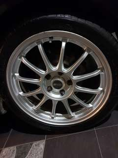 Rim ssr type f ori japan