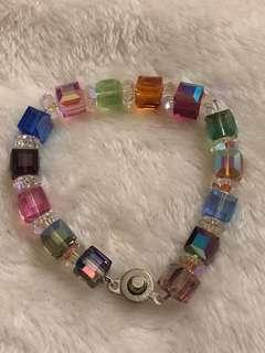 Crystal Bracelet (Multicolor)