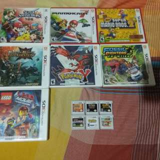 Games for Nintendo 3ds / 2ds ---- trading to Nintendo Switch games (choose 2)