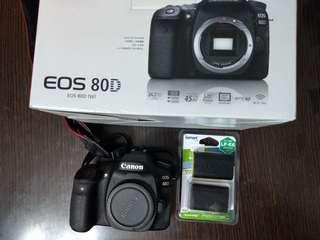 Canon 80D body 行貨