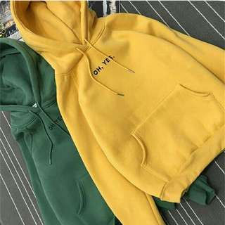 OH YES!! hoodie sweater
