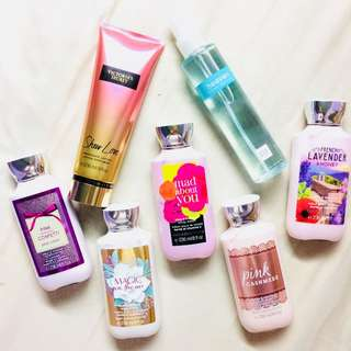 IMPORTED LOTIONS