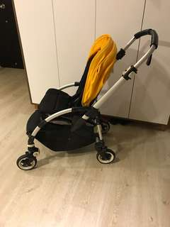 Bugaboo bee+ with leatherette handles