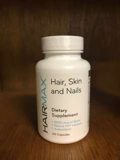 HairMax Hair, Skin and Nails Supplement