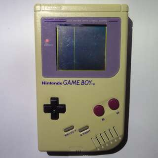 *RARE* Original 1989 Gameboy DMG