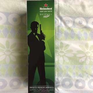 James Bond 007 Limited Edition Heineken Bottle