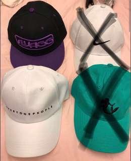 🚚 白色老帽、紫色版帽