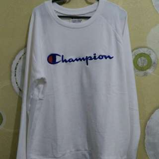 #mausupreme crewneck champion (freeongkir)