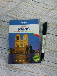 PARIS ‖【Lonely planet】 pocket travel guide