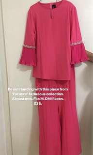 Modern blouse skirt suit
