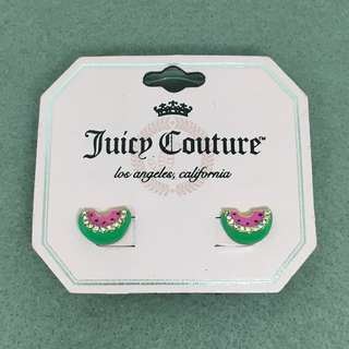 Juicy Couture Sample Earrings watermelon 🍉 西瓜閃石耳環