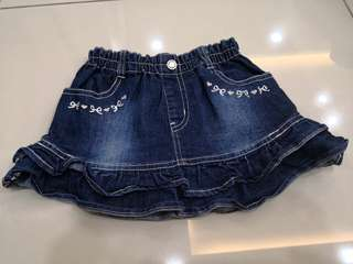 NU Denim Skirt (4-5y)