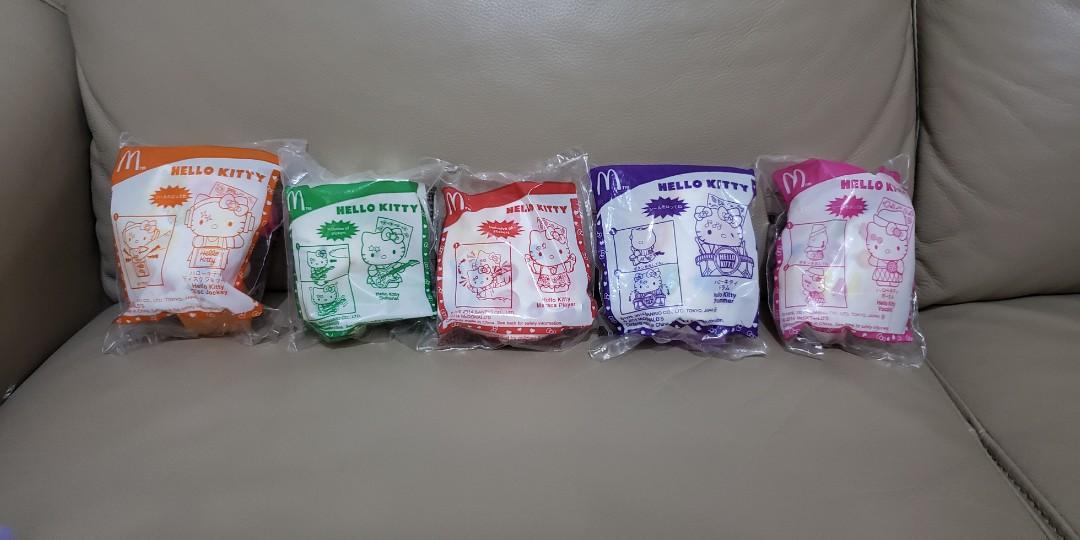 日版 日本麥當勞 Japan McDonald's Hello Kitty Toy Toys 玩具