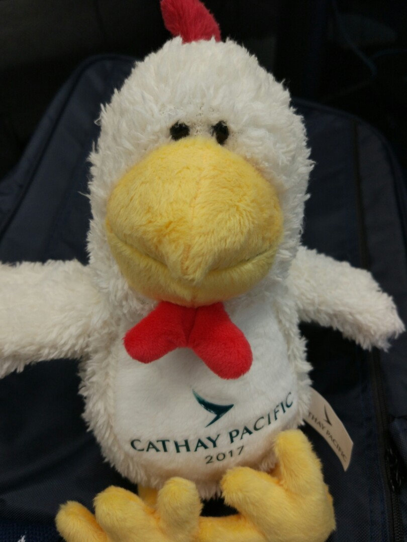 Cathay Pacific Plush Toy Year Of The Rooster 2017