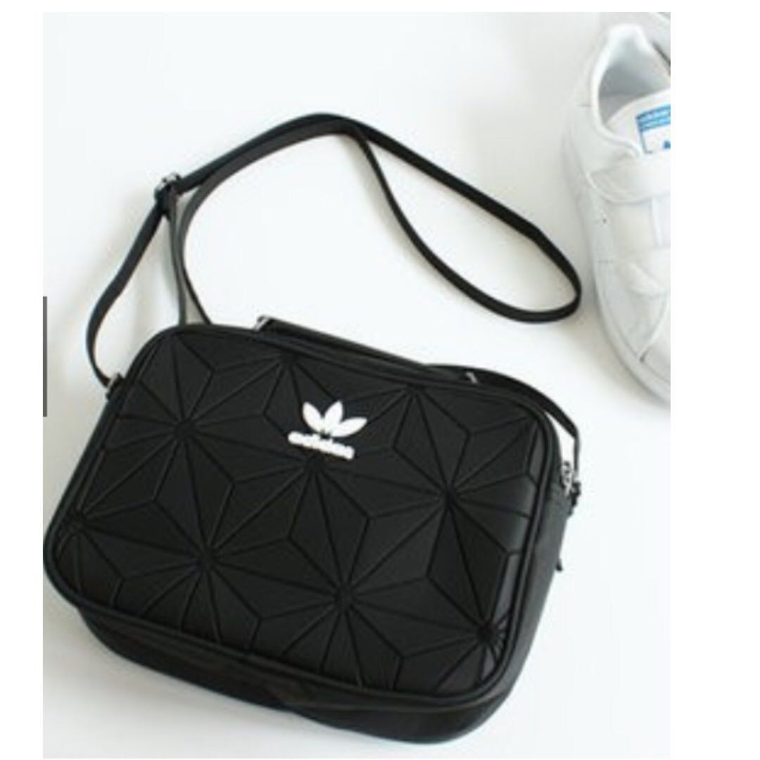 Adidas Originals Mini Airliner, Women's Fashion, Bags & Wallets, Sling Bags on Carousell
