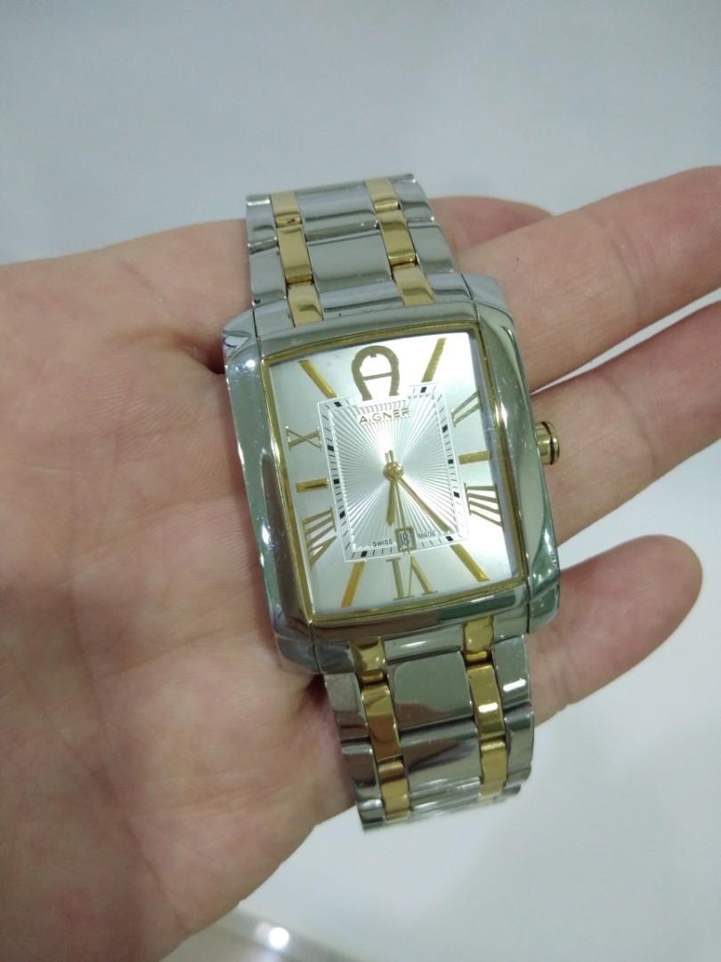 Daftar Harga Aigner A31655 Genua Due Flower Jam Tangan Wanita Silver Alain Delon Ad399 1332c Pria Hitam Atalanta Fashionable Watch Gold