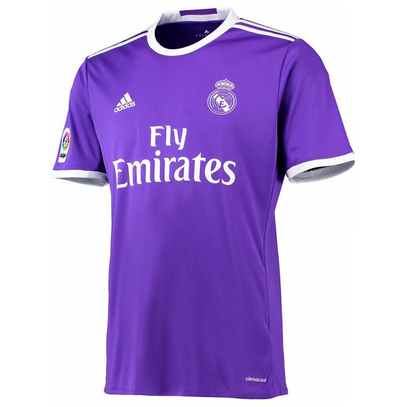 be99a4151f1 Authentic Adidas Real Madrid 16 17 Away Jersey XL