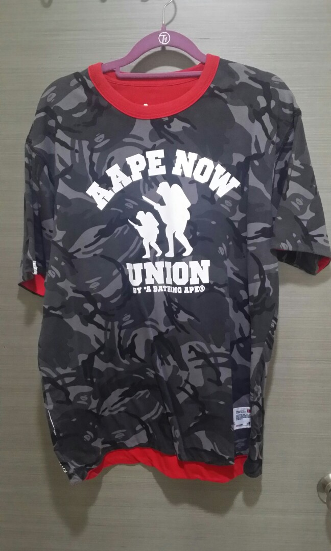 298bc1535 Bape aape bathing, Men's Fashion, Clothes, Tops on Carousell