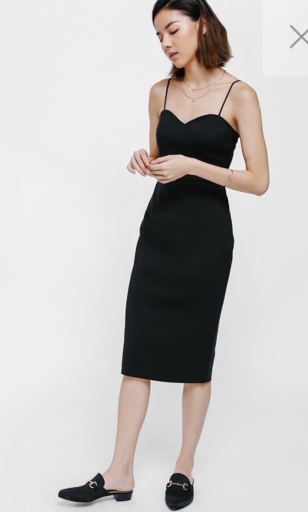 8a2247b727903 BNWT> Love bonito Georgie bustier midi dress, Women's Fashion ...