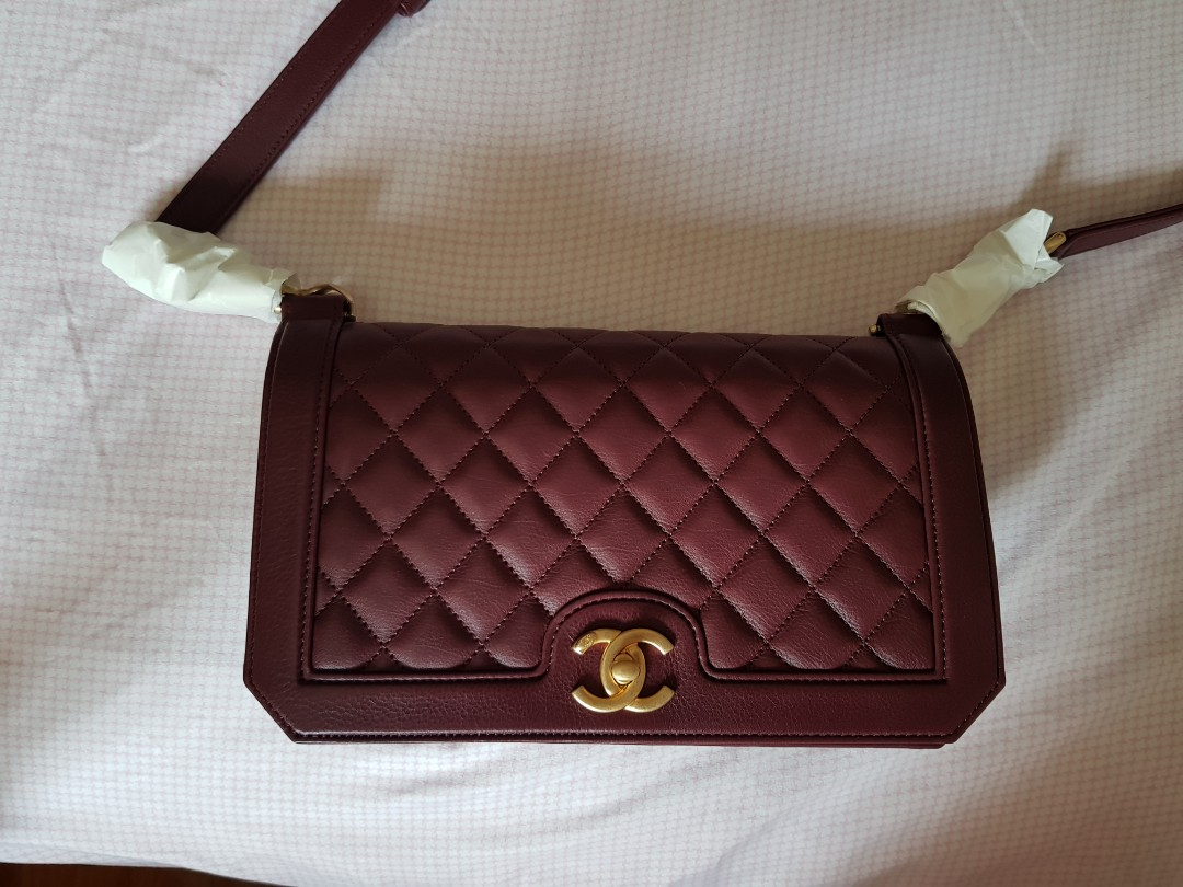 5918c77a15bd Chanel Burgundy