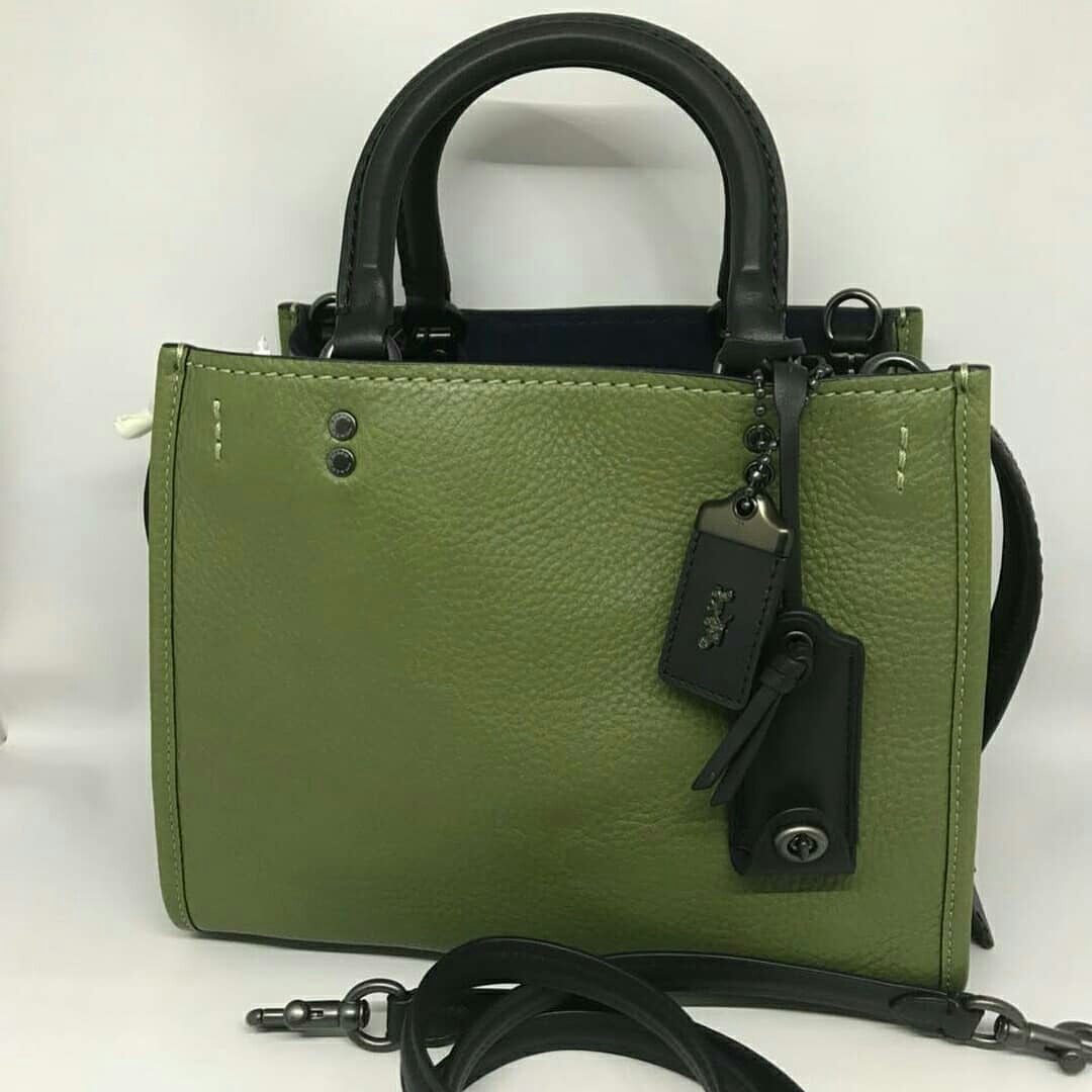 de5f58aa00 Coach Rouge 25 From Coach 1941 Collection in Utility Green (3 ways ...