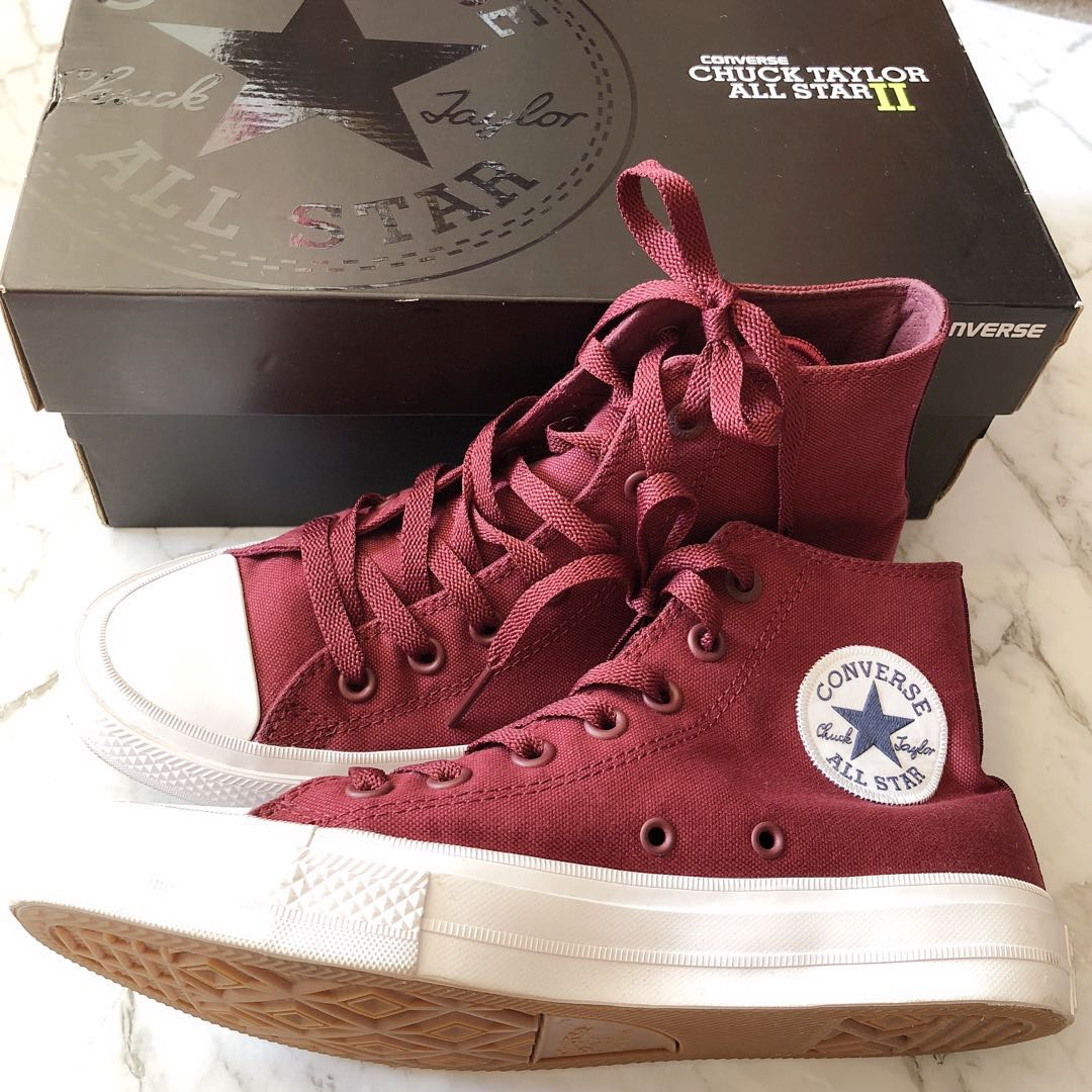 Baskets | Converse Chuck Taylor All Star Hi W Bordeaux