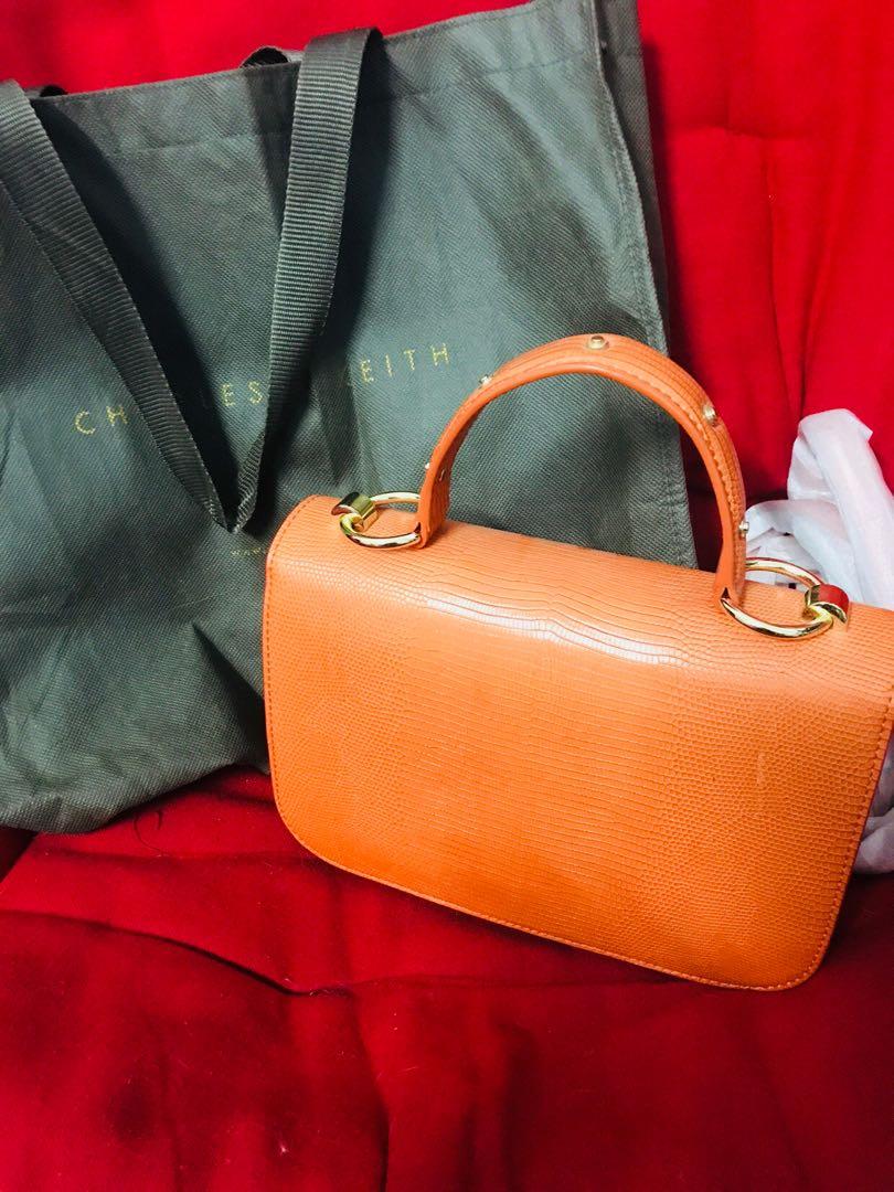 fancy bag authentic charles n keith