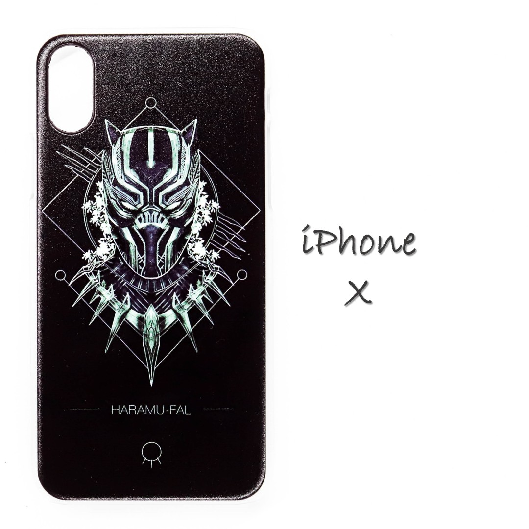 info for a9a2c 422e1 [In Stock] Iphone X Marvel Black Panther Phone Case