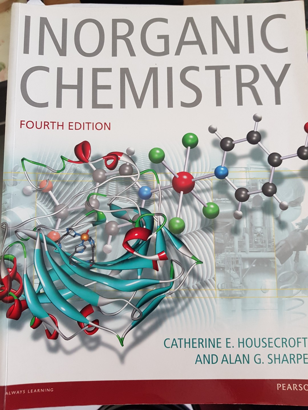 Inorganic chemistry for cm 1111, Books & Stationery, Textbooks,  Professional Studies on Carousell