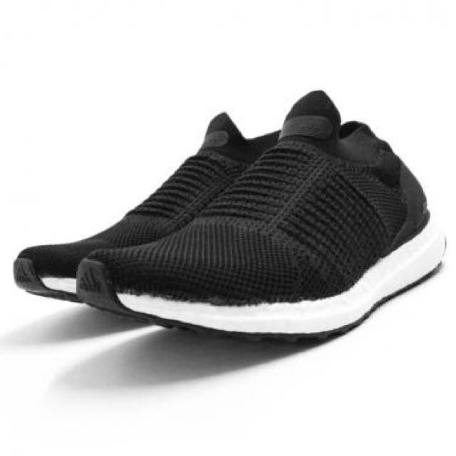 bf4d1c3e0b730 INSTOCK Adidas Ultra Boost Laceless Black White