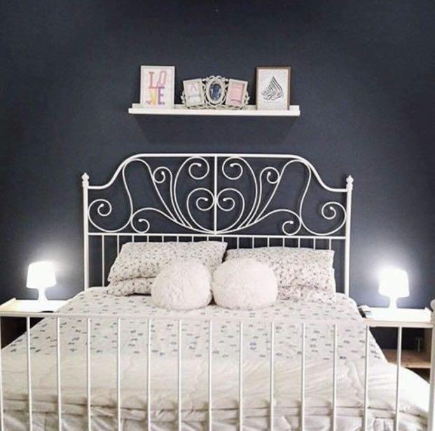 Katil Ikea Leirvik Bed Home Furniture On Carou