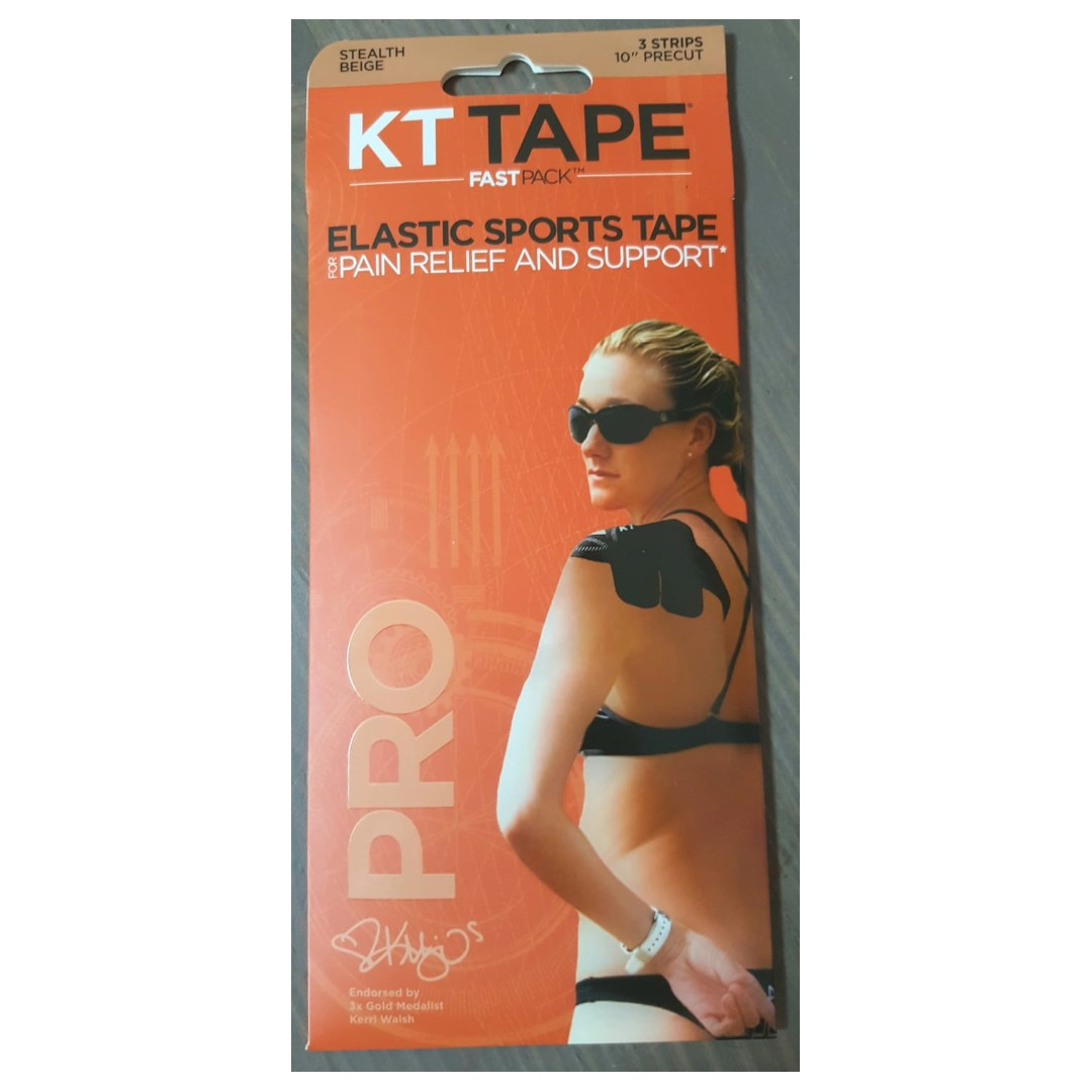 Kt Tape Pro Fast Pack Stealth Biege Sealed New Sports Braces