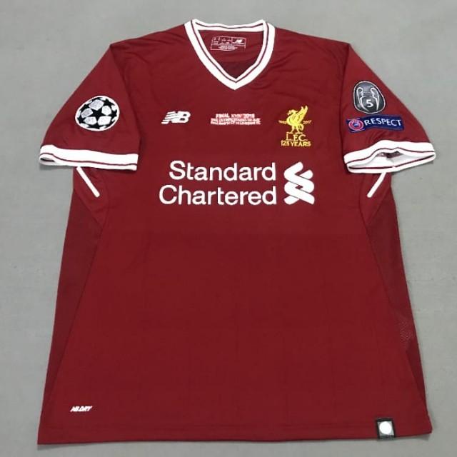ee030d58151 Liverpool Champions League Final Kiev 18 19 Home Jersey