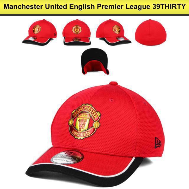 Manchester United New Era 39THIRTY M-L Size 039fd8ee4bf3