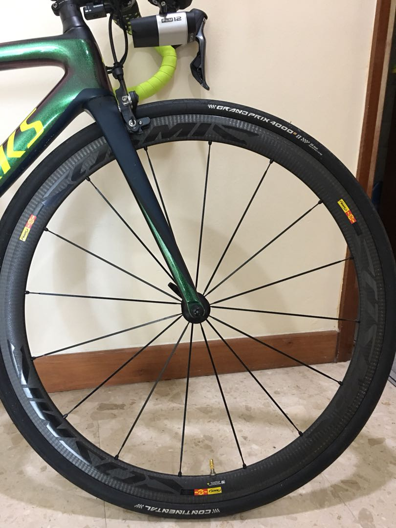 2783f4f9ba1 Mavic Cosmic elite 40 for sale, Bicycles & PMDs, Bicycles, Road Bikes on  Carousell