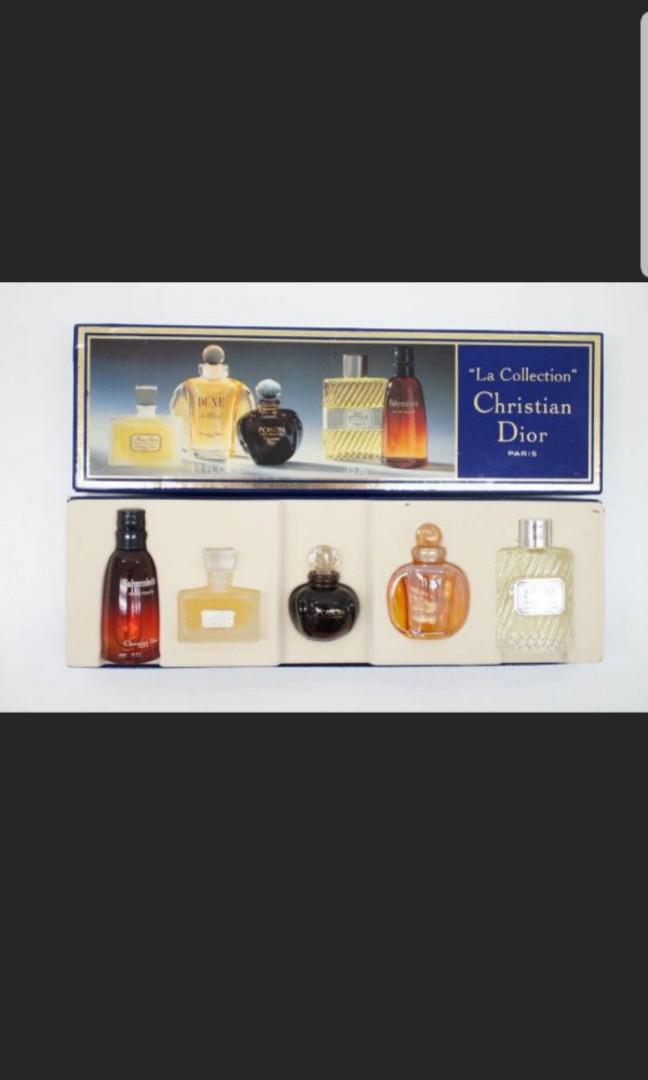 Miniature perfumes Dior