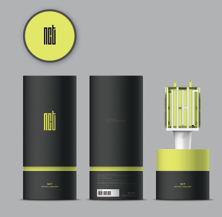 NCT OFFICIAL LIGHTSTICK 59f55686a3e4