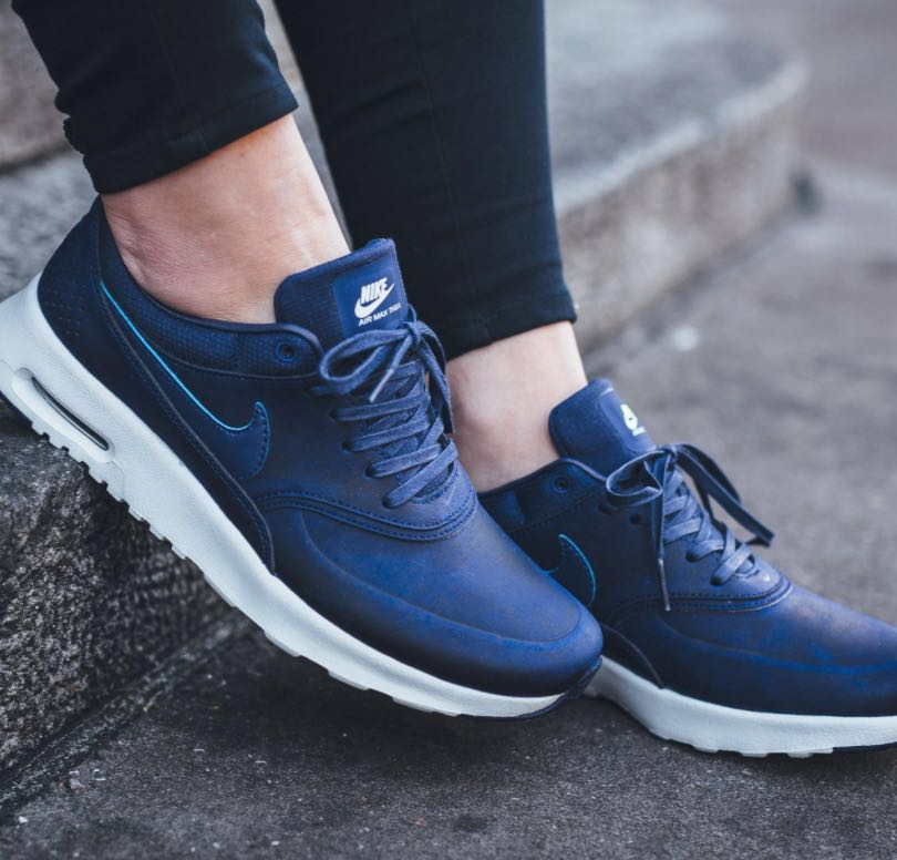 hot sale online 2d27a 0f32b Nike Air Max Thea Loyal Blue, Women s Fashion, Shoes on Carousell