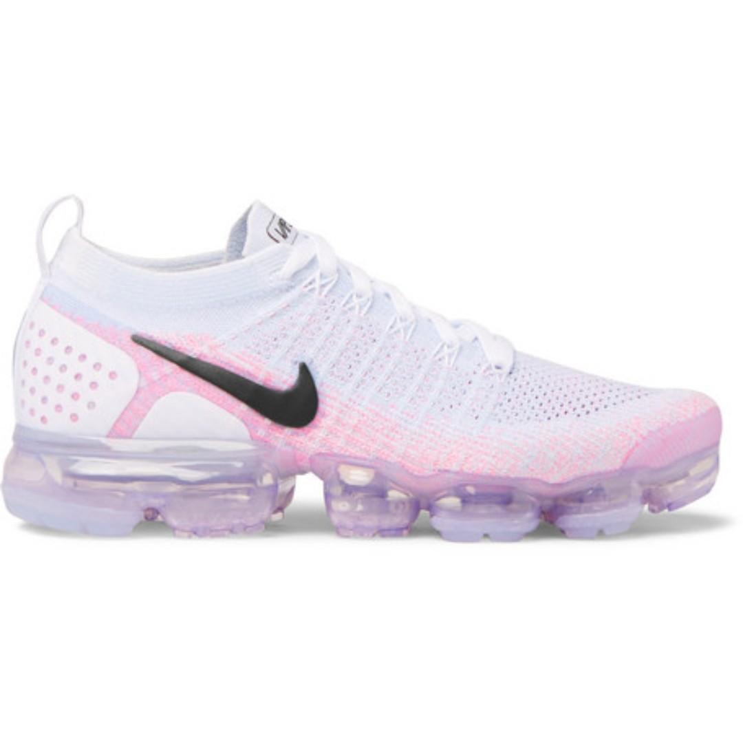 503ebcc97ab3 Nike Air Vapormax 2 0 Flyknit Sneakers Pink Beam Men S