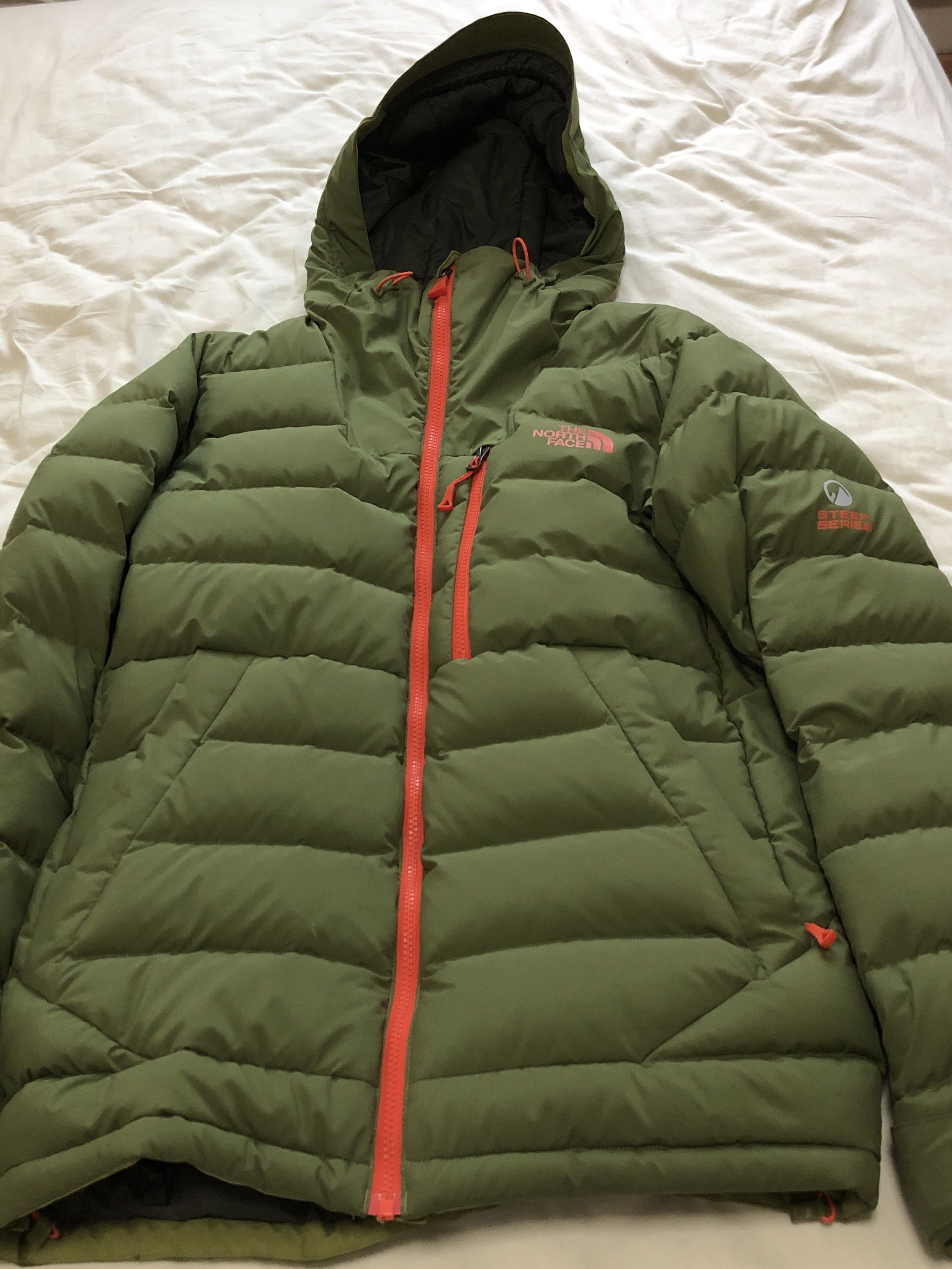 North face 700 pro down jacket - steep series de34a1649