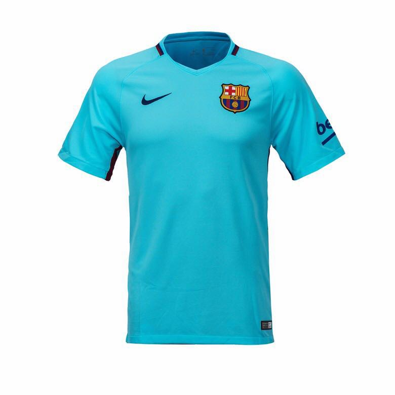 34998b614b4 Official Nike Barcelona FCB 2017/2018 Away Jersey (No Sponsor), Sports,  Sports Apparel on Carousell